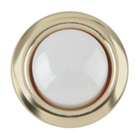Wholesale Doorbell Push Button Replacements Doorbell parts Brass Bell Pushes mm V Wired Lighted Doorbell Chimes use Switch