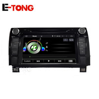 Wholesale For Toyota Sequoia din Car video Auto Multimedia Car Stereo DVD Player with GPS Blutooth DVR Mirror link