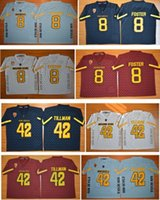 Wholesale Good Quality New Style Cheap Arizona State Sun Devils D J Foster Jersey Stitched ASU Pat Tillman Jersey NCAA College Football Jers