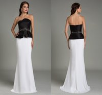 award beadings - Award Dresses Evening Dresses Black Dresses Special Occasion Dresses For Women Beadings Formal Dresses Evening Black And White Evening Dress