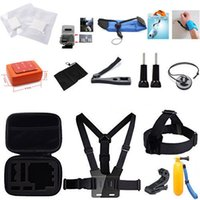 Wholesale 24 in Swimming Skiing Diving Sport Accessory Kit For GoPro Hero4 Session Hero1