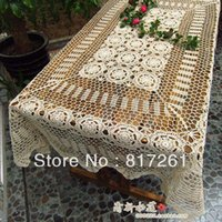 american din - white cotton flowers table cover American piano gremial cotton lace dining table cloth dinning table cover