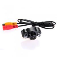 Wholesale 1 quot CMOS Color Degree Car Rear View Reverse Camera Kit Night Vision TVL NTSC V