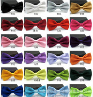 bamboo tuxedo - 2016 Gentleman Wedding Party Tuxedo Marriage Butterfly Cravat New Men Bright Color Bow Tie Adjustable Business Bowties For Gifts DHG32