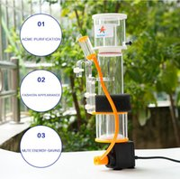aquarium making - marine aquarium coral reef protein skimmer w w w suitable for L fish tank needle brush make bubble