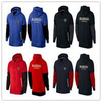 american raiders - cheap sports Oakland cheap Raiders hoodies American football hoodies black red royal navy blue men cheap Sweatshirts size M XL