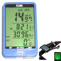 Wholesale Multifunction Large screen Backlight Waterproof Cycle Bicycle bike Wired Computer Odometer Touch Speedometer Bicycle Stopwatch