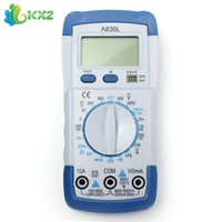 automatic multimeter - Automatic Digital Multimeter Avometer Volt Ohm Amp Tester With LCD Display
