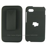 blackberry q5 - Cell Phone Case For BlackBerry Q5 With Belt Clip Hard Cover Color Black