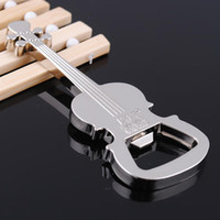Cheap Violin Shape Opener New Creative Gift Violin Design Beer Bottle Opener Kitchen Tools Keychain H032