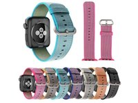 Wholesale Iwatch Watch Band Sport Royal Woven Nylon Bracelet Wrist Band Strap For Apple Watch iWatch mm