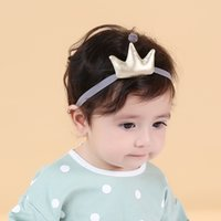 artificial leather cloth - 2016 NEW Baby girl children hair hairpin crown headbands hair clip All inclusive cloth Barrettes colors