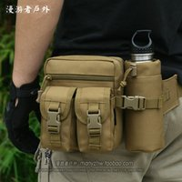 Wholesale D5 tactical water bottle waist pack internality small waist pack multifunctional travel bag ride closer spring lure bag