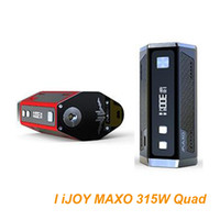 Wholesale Original IJOY MAXO Quad W Box Mod Compared to triple vape mod with with a longer life span electronic cigarettes mods