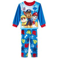 Wholesale Kids leisure wear Cartoon Dog PAW clothes boys patrol long sleeve T shirts Tops Children shirts Baby suit Kids Spring Clothes