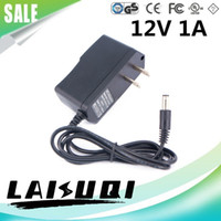 Wholesale 1pcs v a Dc5 Ac dc Power Adapter Us Plug Charger v1a Supply For Led Cctv Other The New Sale Special Offer