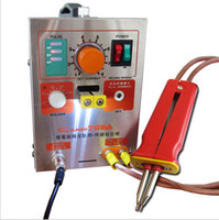 Wholesale 2 in kw Spot Welder Soldering Iron Staion A Battery Welding Machine A support mm thickness nickel strip