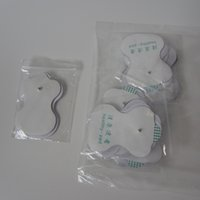 Wholesale Brand New White Health Pad electrode gel pad For Acupuncture electro muscle stimulator