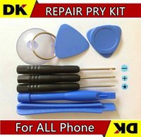 Wholesale Cheapest Price in Screwdriver Sucker Pry Repair Opening Tool Kit Set For iphone s g c s plus sets