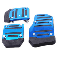 Wholesale Car Non slip Pedals Foot Treadle Cover Only Just For Manual Transmission Car DIY Pedals Together