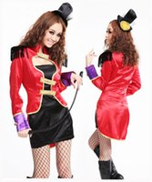 adult clown - Sexy Girl Adult magician Cosplay halloween fancy dress New Arrival Clown Circus Costume Carnival Women Clothes
