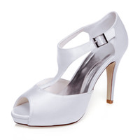 bar lace shoes - 10cm Heel Platfrom Elegance T bar Style Wedding Shoe Evening Shoes High Heel Bridal Shoes Party Prom Women Shoes bridal shoes Party Shoes