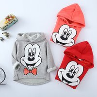 Wholesale 2016 autumn and winter new children in cotton and cashmere hooded sweater Cartoon embroidery winter super soft children s sweater