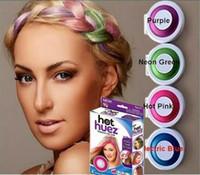 Wholesale 2016 Huez colors Dye hair powdery cake Temporary Hair Chalk Powder Craze Soft Pastels Salon Party DIY Hair Colors DHL
