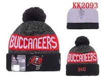 bay for sale - Tampa Bay Beanies Sports Teams Buccaneers Hats women men Cool Winter Fashion Skull Caps with Pom Cheap Pom Pom Beanie Hats for Sale