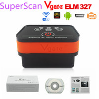 Wholesale Newest Vgate Wifi iCar2 OBD2 ELM327 iCar wifi vgate OBD code scanner diagnostic interface for IOS iPhone iPad Android color