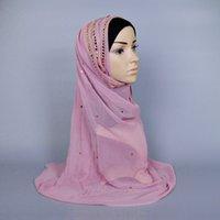 Wholesale Hot Sales NEW colors Fashion Islamic Turban Headwear muslim hijab Women s Maxi Scarf Head Wrap