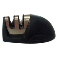 Wholesale Edge Grip Stage Knife Sharpener Knife Slicker Black High quality metals No slip handle bond two metal