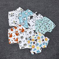 Wholesale INS Boys Girls Baby Childrens Kids Clothes Cotton Harem Shorts Pants Leggings Cartoon Fruits Animal Children Boutique Clothing