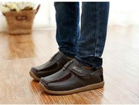 fast shipping shoes - Children Casual Shoes Genuine Leather Fast Shipping