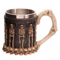 alternative trade - Hot Skull Keller Foreign Trade The Original Single Skulls Stainless Steel Coffee Mug Cup Personality Alternative Cups