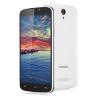 Wholesale Doogee X6 Smartphone Inch HD x720 IPS Mtk6580 Quad Core Android Mobile Phone GB RAM GB ROM MP WCDMA