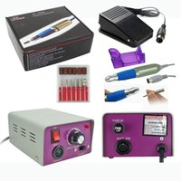 acrylic nails machine - Electric False Acrylic Nail Art File Drill Set Manicure Pedicure Machine Kit