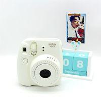 Wholesale Fuji Instax mini Instant Film Camera hot sale colorful fixed focusing cute film cameras oscar camera DHL free