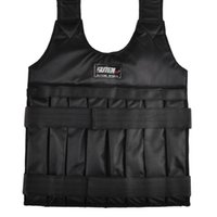 Wholesale SUTEN kg Weighted Vest With Sholder Pads Comfortable Weight Jacket Adjustable Sanda Exercise Boxing Sand Clothing Empty New