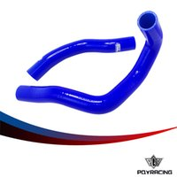 Wholesale PQY RACING Silicone Radiator Coolant Hose Silicone hose kit With logo For TOYOTA Supra JZA80 NA PQY LX N