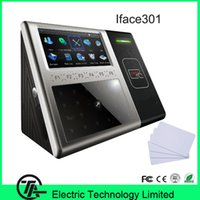 Wholesale Good quality Iface301 linux system IC card face time attendance and facial access control