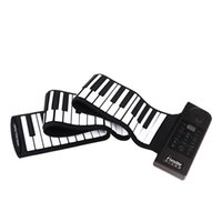 Wholesale PU88M Keys MIDI Tones Electronic Organ Roll Up Folding Piano Built in Speaker for Kids