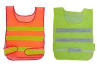 Wholesale New design Visibility Reflective Safety Vest Coat Sanitation Vest Traffic Safety warning clothes vest Safety working waistcoat cloth
