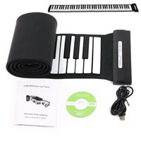 Wholesale Keys Professional Flexible USB Soft Roll up Electronic Piano Keyboard Silicone Flexible Professional Musical Instruments