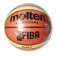 ball pump pin - Molten Basketball GM7 Size7 basketball PU Materia Free with ball pump net bag pins