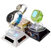 Wholesale Creative solar energy boosters in rotary display rotation cell phone watches accessories jewelry jade article