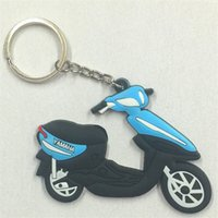 Wholesale Motorcycle accessories motorbike parts Key ring Key chain PVC Key chainis for motor bicycle autobicycle _