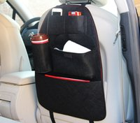 Wholesale Wool felt Vehicle mounted seat pocket Customizable Creative products