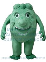 adult alien costume - green monster mascot costume alien custom adult size cartoon character cosply carnival costume