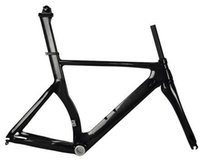 Wholesale EMS fre shipping T800 carbon bike frame time trial bicycle frame at factory s price for sale TT carbon frame